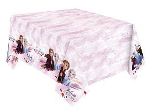 Toalha De Mesa Festa Frozen 2 - 01 unidade - Regina - Rizzo Festas