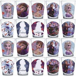 Copinho para Doces 40ml Festa Frozen 2 - 20 unidades - Rizzo Festas