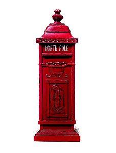 Caixa de Correio Vermelha Decorativa 40cm - 01 unidade - Cromus Natal by  Cecília Dale - Rizzo Embalagens