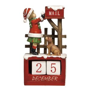 Calendário Natalino 22cm - 01 unidade - Cromus Natal by  Cecília Dale - Rizzo Embalagens