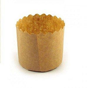 Forma para Panetone Lisa Kraft 500g - Top Line - Rizzo Embalagens