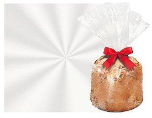 Saco para Panetone Transparente Incolor - Cromus - Rizzo Embalagens e Festas