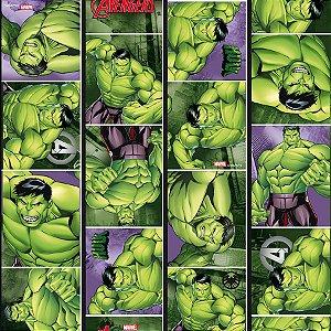Folha para Ovos de Páscoa Hulk 69x89cm - 05 unidades - Páscoa Hulk - Rizzo Embalagens