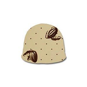 Papel Chumbo 8x7,8cm - Sabor Ouro Marrom - 300 folhas - Cromus - Rizzo Embalagens