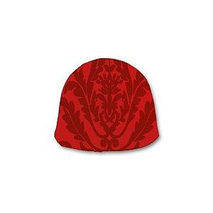 Papel Chumbo 8x7,8cm - Adamascado Vermelho - 300 folhas - Cromus - Rizzo Embalagens