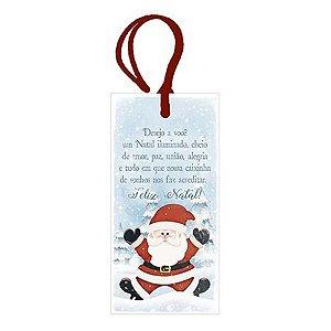 Tag de MDF Natal Iluminado 15,5cm - 01 unidade - Litoarte - Rizzo Embalagens