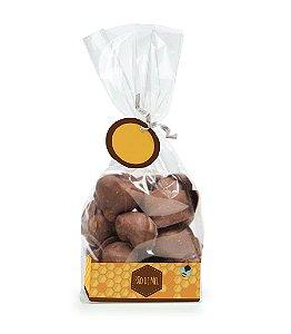 Kit Fundo Retangular Pão de Mel 7,5x3,8x2,8cm - 10 unidades - Cromus Páscoa - Rizzo Embalagens