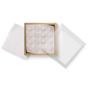 Papel Manteiga Cacau - 100 unidades - Cromus Profissional - Rizzo Embalagens