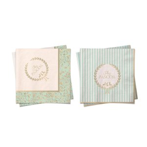 Guardanapo de Papel Verde Pastel Composê - 20 folhas - Cromus Páscoa - Rizzo Embalagens