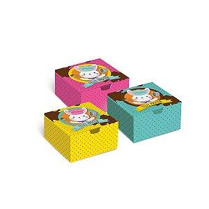 Caixa Divertida Mestre Cuca - Sortido - 10 unidades - Cromus Páscoa - Rizzo Embalagens