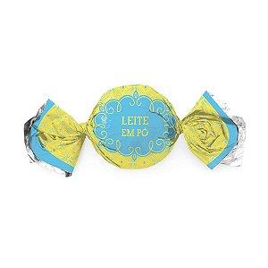 Papel Trufa 14,5x15,5cm - Gostosura Leite em Pó - 100 unidades - Cromus - Rizzo Embalagens