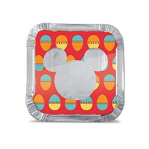 Marmitinha P 5,5x5,5x3cm Disney - 12 unidades - Cromus Páscoa Disney - Rizzo Embalagens