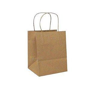Sacola de Papel Fundo Largo Ref 5812 - 22x13,5x29,5cm - 10 unidades - WMA - Rizzo Embalagens