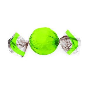 Papel Trufa 14,5x15,5cm - Neon Verde - 75 unidades - Cromus - Rizzo Embalagens