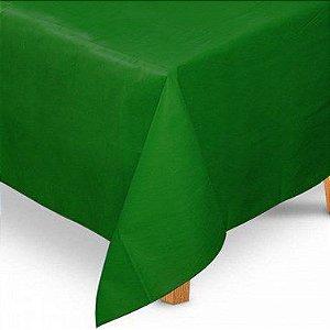Toalha de Mesa Quadrada em TNT (1,00m x 1,00m) Verde Bandeira 5 unidades - Best Fest - Rizzo Embalagens