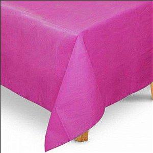 Toalha de Mesa Quadrada em TNT (1,00m x 1,00m) Rosa Pink 5 unidades - Best Fest - Rizzo Embalagens