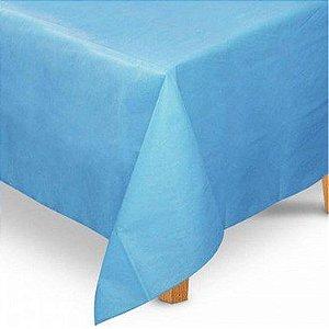 Toalha de Mesa Quadrada em TNT (1,00m x 1,00m) Azul Claro 5 unidades - Best Fest - Rizzo Embalagens