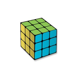 Caixa Surpresa Cubo Festa Neon - 7,5x7,5x7,5cm - 8 unidades - Festcolor - Rizzo Embalagens