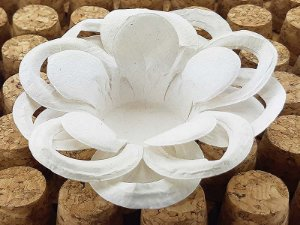 Forminha para Doces Floral Loá Colorset Lisa Cru - 40 unidades - Decorart