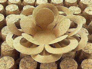 Forminha para Doces Floral Loá Colorset Kraft (Capuccino) - 40 unidades - Decorart