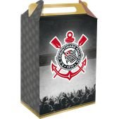 Caixa Surpresa Cubo Festa Corinthians - 8 unidades - Festcolor - Rizzo Embalagens