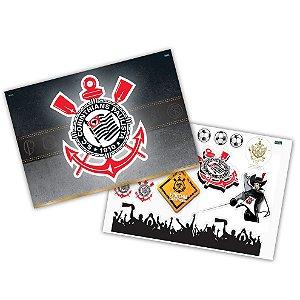 Kit Decorativo Festa Corinthians - 1 unidade - Festcolor Festas - Rizzo Embalagens