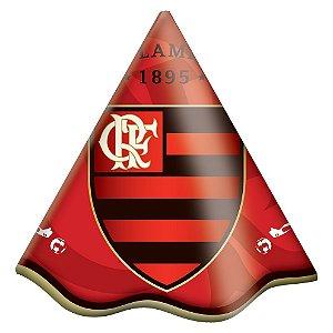 Chapéu Festa Flamengo - 08 unidades - Festcolor - Rizzo Festas