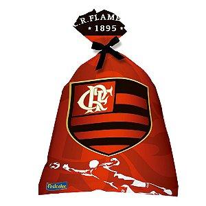 Sacola Surpresa Festa Flamengo - 08 Unidades - Festcolor - Rizzo Festas