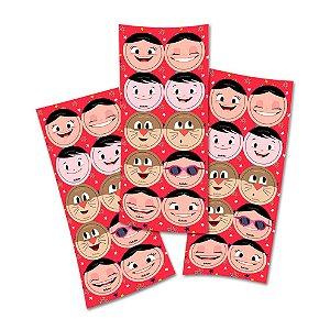 Adesivo Redondo para Lembrancinha Festa Show da Luna - 30 unidades - Festcolor - Rizzo Embalagens e Festas