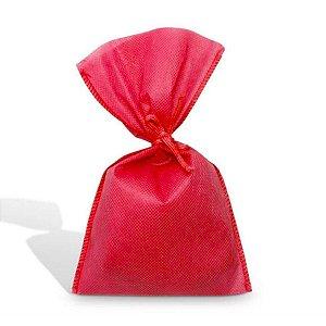 Saco em TNT (1,00m x 1,40m) Vermelho - 01 unidade - Best Fest - Rizzo Embalagens