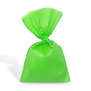 Saco em TNT (1,00m x 1,40m) Verde Limão - 01 unidade - Best Fest - Rizzo Embalagens