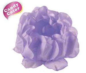 Forminha para Doces Finos - Rosa Maior Lilás Candy 40 unidades - Decora Doces - Rizzo Festas