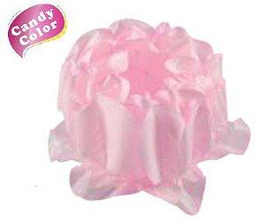 Forminha para Doces Finos - Rosa Maior Rosa Candy 40 unidades - Decora Doces - Rizzo Festas
