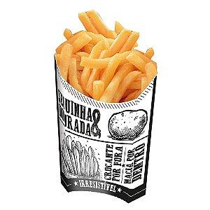 Caixa para Batatas Fritas Preto e Branco - 50 unidades - Food Service Fest Color - Rizzo Embalagens