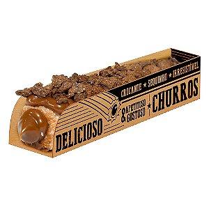 Caixa para Churros Kraft - 50 unidades - Food Service Fest Color - Rizzo Embalagens