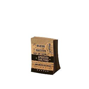 Saco para Viagem P 27,5x17,5cm Kraft - 50 unidades - Food Service Fest Color - Rizzo Embalagens
