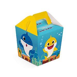 Caixa Sushi - Festa Baby Shark - 08 unidades - Cromus - Rizzo Festas