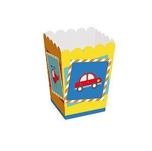 Caixa Pipoca - Festa Fábrica de Brinquedos - 10 unidades - Cromus - Rizzo Festas