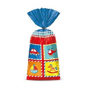 Sacola Surpresa Festa Fábrica de Brinquedos - 8 unidades - Cromus - Rizzo Festas