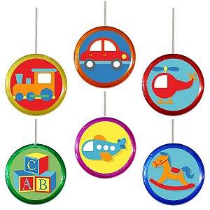 Ioiô para Lembrancinha Festa Fábrica de Brinquedos - 1 unidade - Rizzo Festa