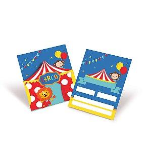 Convite - Festa Circo 2 - 08 unidades - Cromus - Rizzo Festas