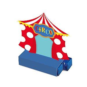 Caixa Bis - Festa Circo 2 - 08 unidades - Cromus - Rizzo Festas