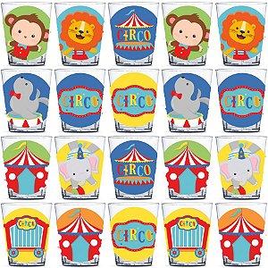 Copinho para Doces 40ml Festa Circo 2 - 20 unidades - Rizzo Festas