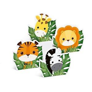 Silhueta Decorativa de Mesa - Festa Safari 2 - 04 unidades - Cromus - Rizzo Festas