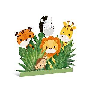 Silhueta Decorativa de Chão - Festa Safari 2 - 01 unidade - Cromus - Rizzo Festas