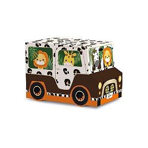 Caixa Jipe - Festa Safari 2 - 10 unidades - Cromus - Rizzo