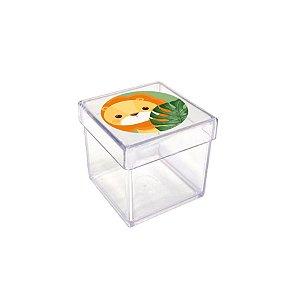 Caixinha Acrílica para Lembrancinha Festa Safari 2 - 20 unidades - Rizzo Festas