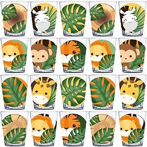 Copinho para Doces 40ml Festa Safari 2 - 20 unidades - Rizzo Festas