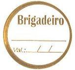Etiqueta Brigadeiro - 100 unidades - Decorart - Rizzo Embalagens