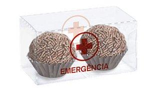 Caixa Clean 3 Emergência 8 x 4 x 4cm - 10 unidades - Cromus - Rizzo Embalagens